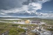 061 Norwegia Hardangervidda Dyranut Fjellstova