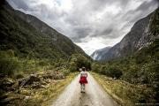 120 Norwegia Skykkjedalsfossen Simadalen