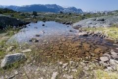 033 Norwegia Tyssedal Trolltunga Skjeggedal Ringedalsvatnet