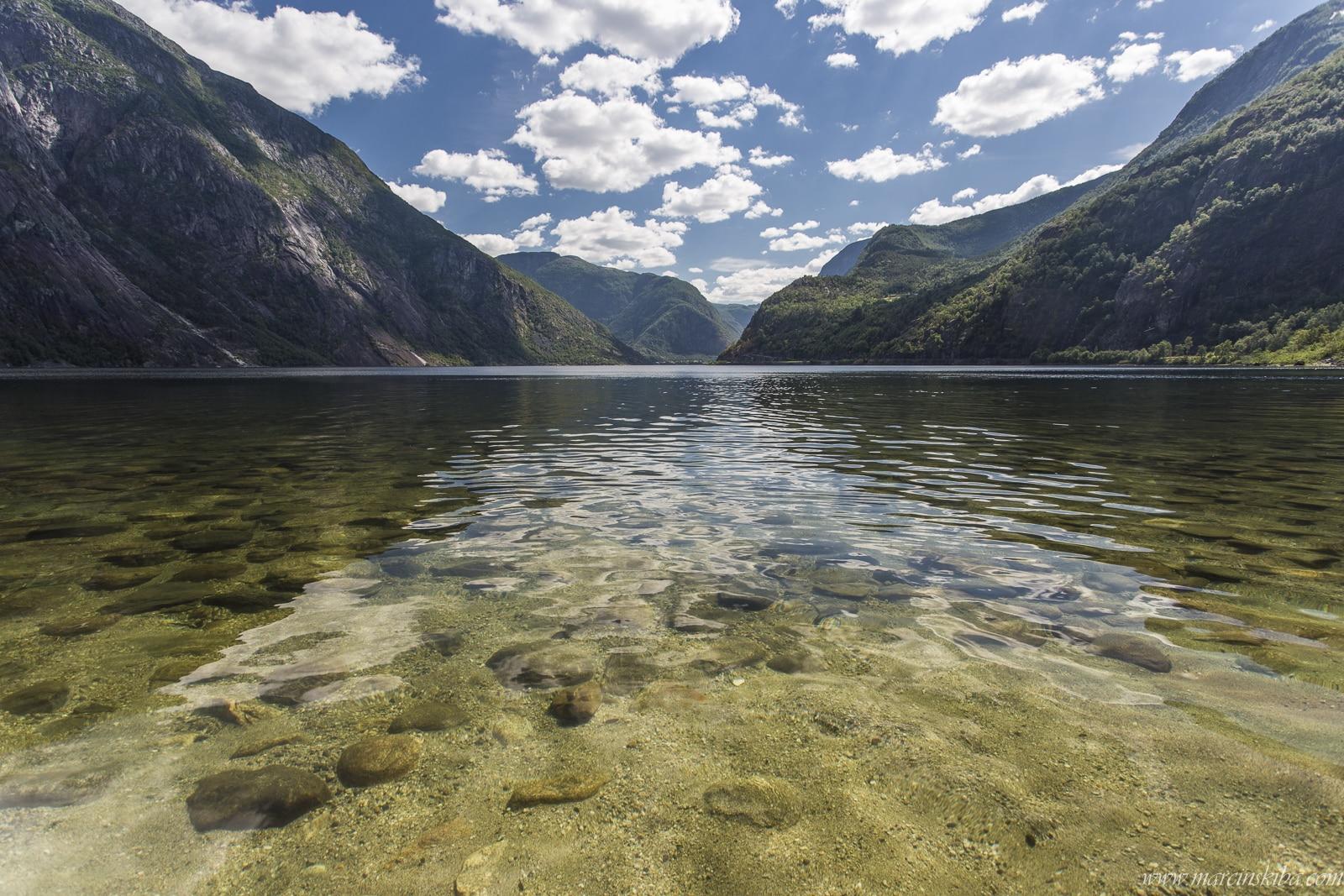 011 Norwegia Eidfjord Eidfjordvatnet