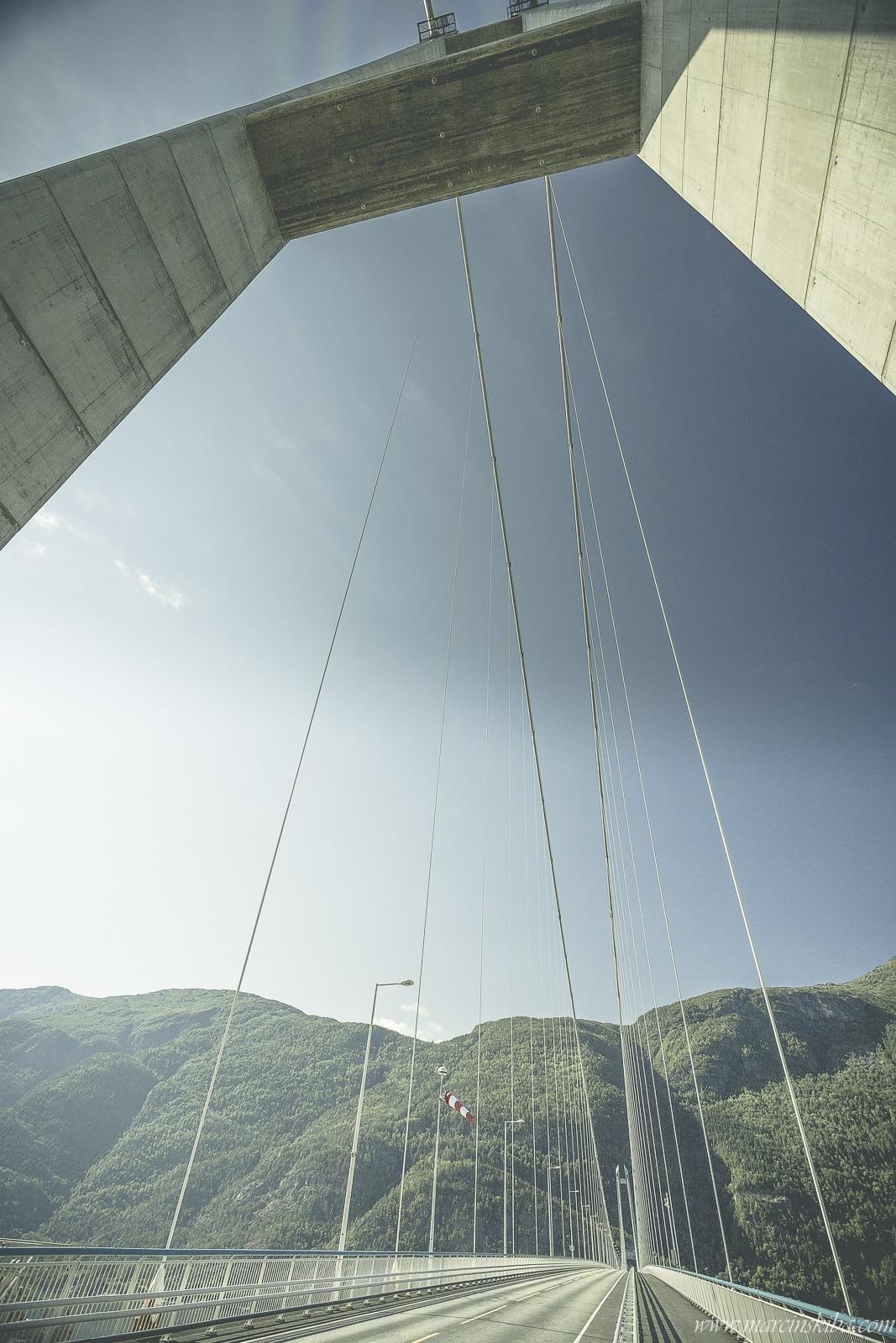 024 Norwegia Hardanger Bridge Hardangerbrua