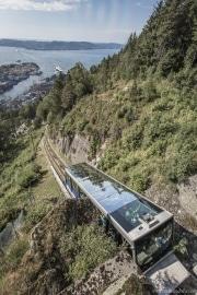 087 Norwegia Bergen Floibanen