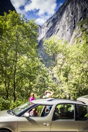 132 Norwegia Vedalsfossen Hjolmodalen