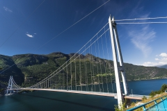 022 Norwegia Hardanger Bridge Hardangerbrua