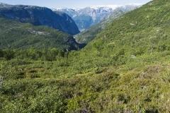 029 Norwegia Tyssedal Trolltunga Skjeggedal Ringedalsvatnet