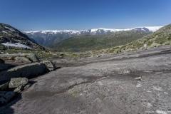 031 Norwegia Tyssedal Trolltunga Skjeggedal Ringedalsvatnet