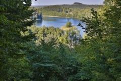 Góra Zamkowa widok na Górę Cisową